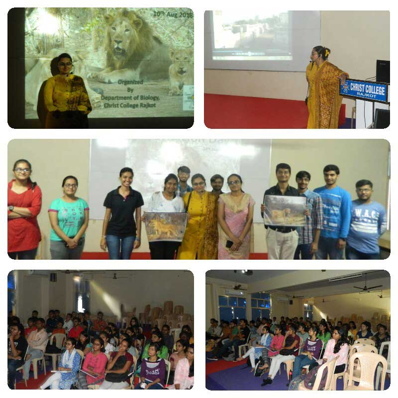 WORLD LION DAY CELEBRATION-2018