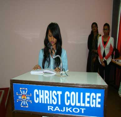 Inauguration of the Women Cell & Expert Lecture, AAROHAN - Christ Women Cell 2016-17