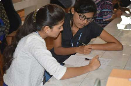 Quiz Competititon, AAROHAN - Christ Women Cell 2016-17